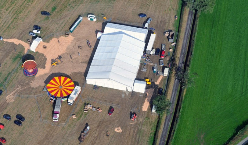2012 chill out 12 x 30m marquee for Shropshire YFC Chairmans Ball